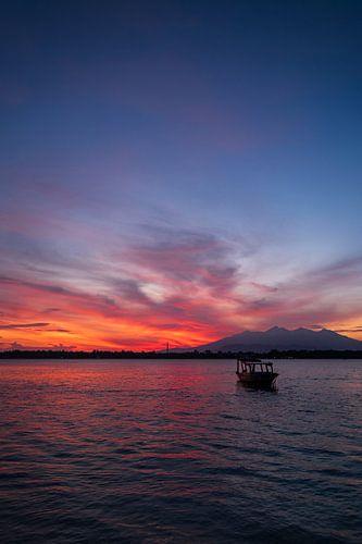 Zonsopkomst boven Bali