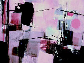 Samenstelling in roze van Claudia Neubauer