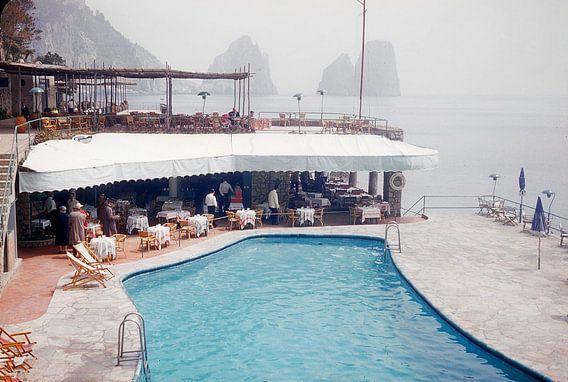Vintage foto Capri 1958 van Jaap Ros