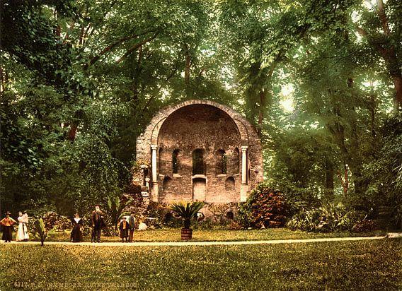Valkenhof Ruïnes, Nijmegen van Vintage Afbeeldingen