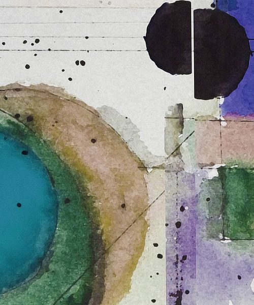 Sonne und Mond III von Kay Weber