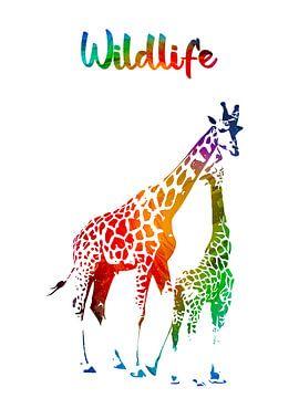 Giraffen von Printed Artings