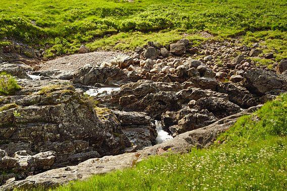 Fahrt mit dem Sessellift im Glencoe Mountain Resort. Blick auf die bezaubernde Landschaft