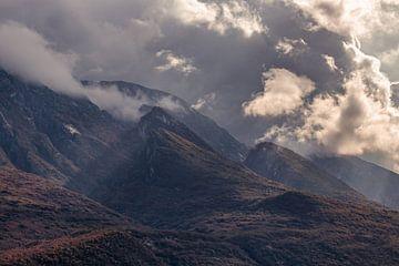 Gebirge am Gardasee von Severin Frank Fotografie