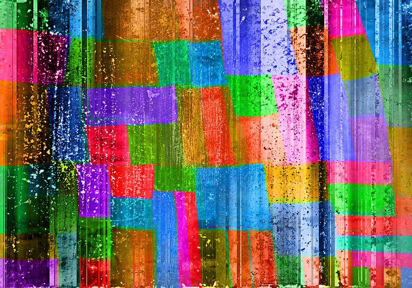 Abstract Liquid sixteen van PictureWork - Digital artist