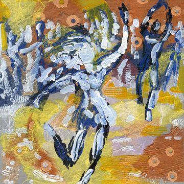 Woman Party Dance von ART Eva Maria