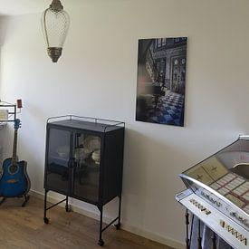 Klantfoto: Piano in oude villa van Inge van den Brande, op aluminium