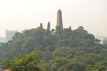 Guanzhou city obelisk von Simone van der Heide