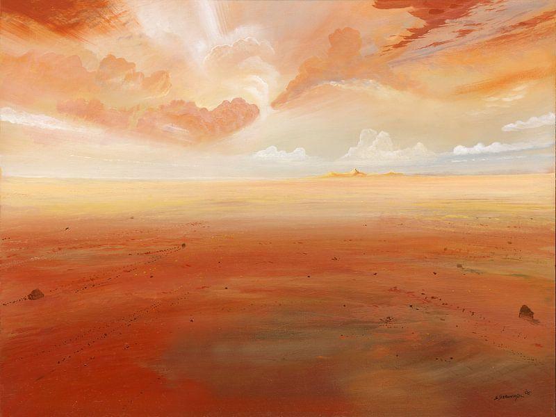 Wolkenspiel van Silvian Sternhagel