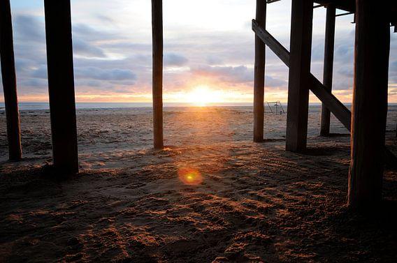 Zonsondergang bij Schoorl