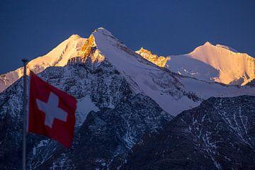Schweizer Alpen von Menno Boermans