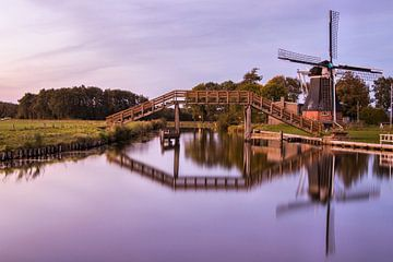 de molen Boezemvriend von Marga Vroom
