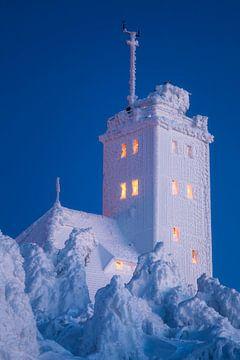 ijskoud observatorium van Daniela Beyer
