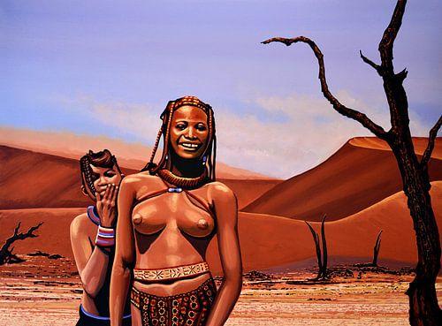Himba Girls Of Namibia