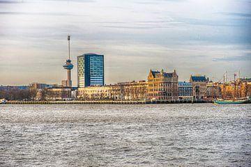 Rotterdam De Euromast van Brian Morgan