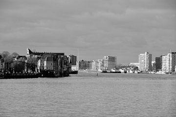 Zwijndrecht-Dordrecht - in zwart-wit van Ineke Duijzer