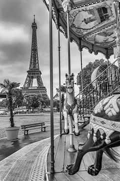 Typical Paris | monochrome sur Melanie Viola