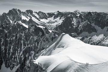 Vallée Blanche Chamonix von Menno Boermans