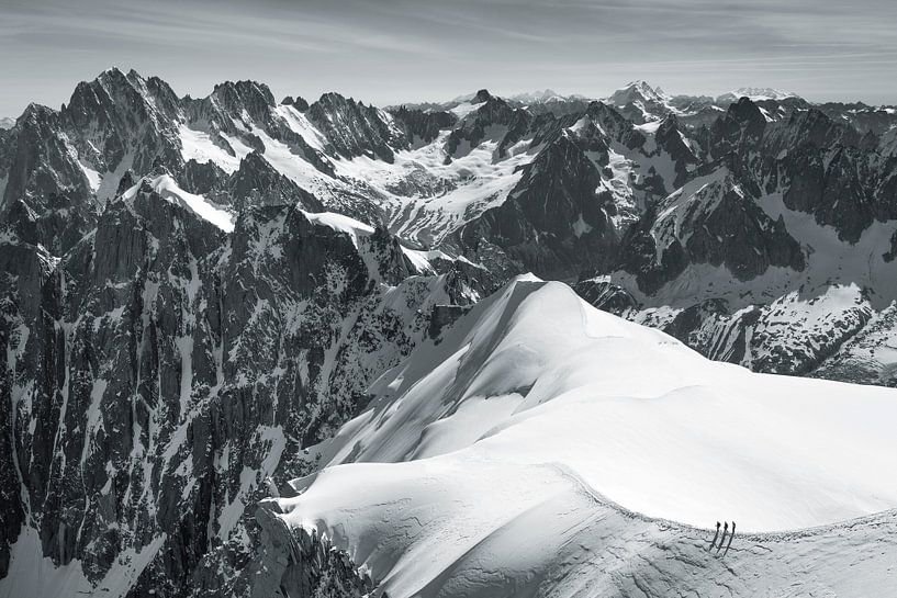Vallée Blanche in Chamonix sur Menno Boermans