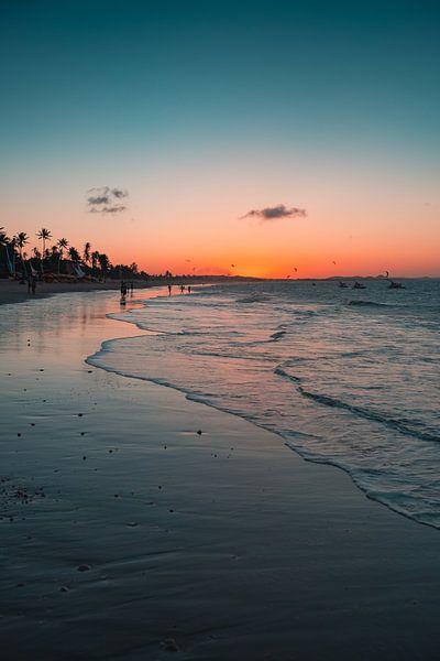 Cumbuco zonsondergang van Andy Troy