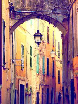 Italian street.. sur Els Fonteine
