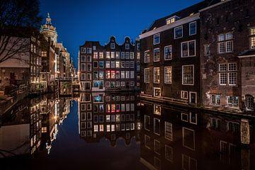 Grachten von Amsterdam von Mario Calma