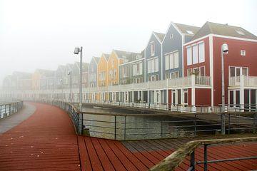 Maisons colorées sur Ad Jekel