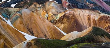 Brennisteinsalda hikers von Wojciech Kruczynski