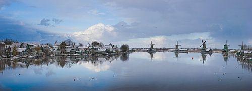 Zaandijk met de Zaanse Schans von Rene van der Meer