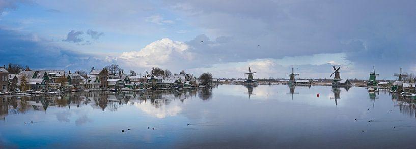 Zaandijk met de Zaanse Schans van Rene van der Meer