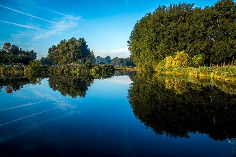 Twiske met water als een spiegel van Jaap Mulder
