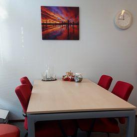 Klantfoto: Time Stands Still van Jacky Gerritsen, op canvas