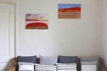 Klantfoto: Uluru, Noordelijk Territorium,  Australië