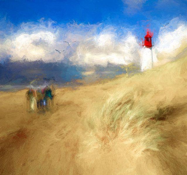 Beach walking von Andreas Wemmje