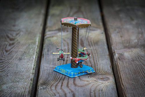 Nostalgisch speelgoed draaimolentje