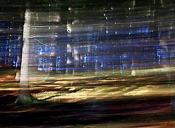 Sehen Sie, wie der Wind durch die Bäume weht. von Jacqueline Lemmens