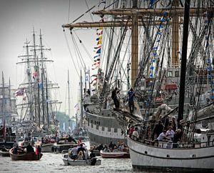 Sail parade Amsterdam