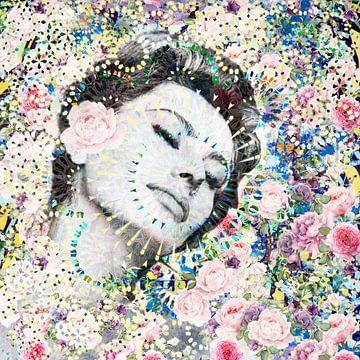 Sophia Loren Kunstwerk van Giovani Zanolino