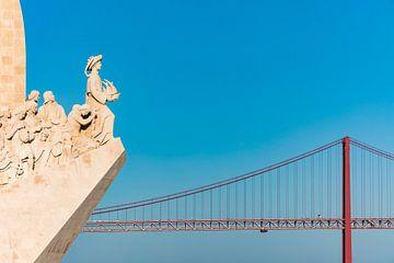 Denkmal Padrao dos Descobrimentos in Lissabon von