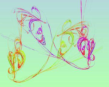 Fidele Würmchen van Harry Ucksche