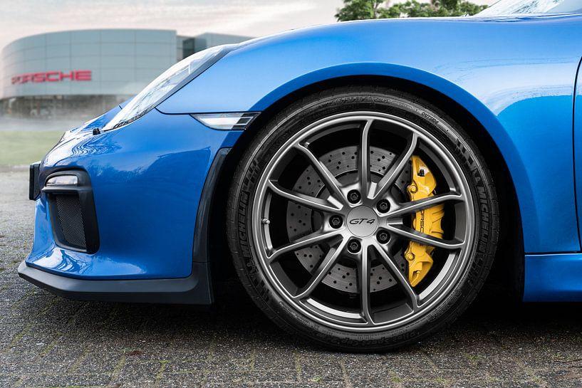 Porsche GT4 Felge von Maikel van Willegen Photography