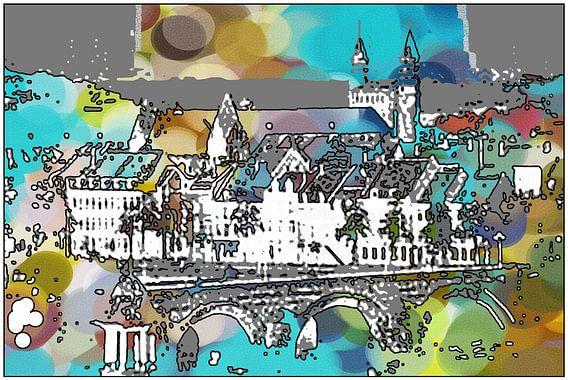 MAASTRICHT- MESTREECH  Aw Brögk  van MY ARTIE WALL