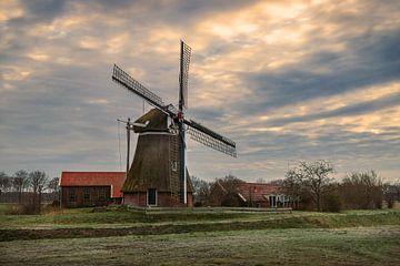 De Groote Polder molen van Marga Vroom