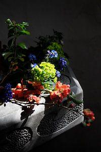 stilleven met bloemen van Richard Mijnten