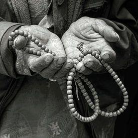 Mit offenen Händen auf Pilgerreise von Affect Fotografie