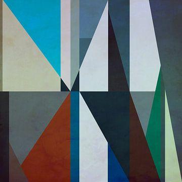 Abstracte samenstelling 1199 van Angel Estevez