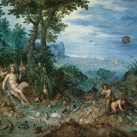 Water, Jan Brueghel de Oudere, Jan Brueghel de Oude van Meesterlijcke Meesters