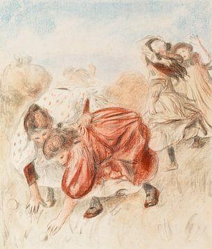Renoir, Bal spielende Kinder (1900)
