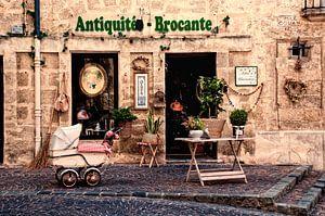 Français antiquités magasin