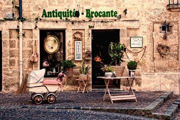 Français antiquités magasin sur